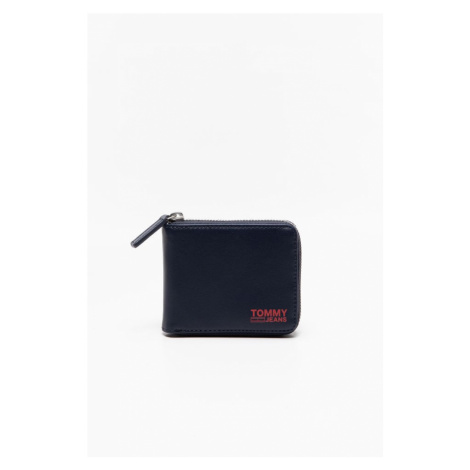 Portfel Tommy Jeans Tjm Essential Za Wallet Am0Am07412C87 Navy/red Tommy Hilfiger