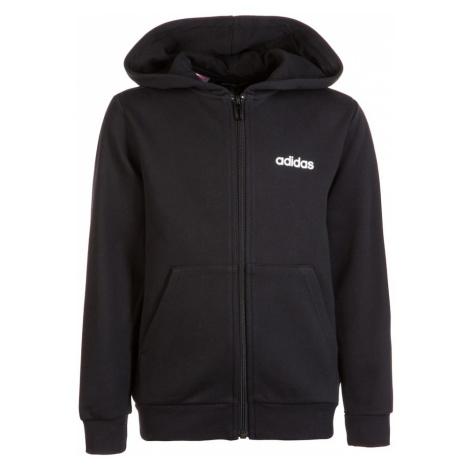 ADIDAS PERFORMANCE Sportowa bluza rozpinana 'Essentials Linear' czarny
