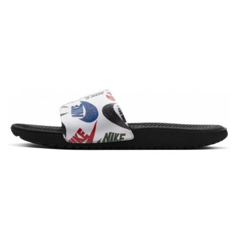 Klapki dla małych/dużych dzieci Nike Kawa SE JDI - Czerń