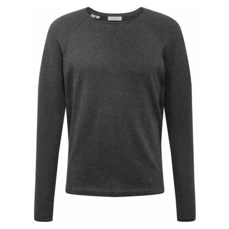 SELECTED HOMME Sweter 'Carter' ciemnoszary