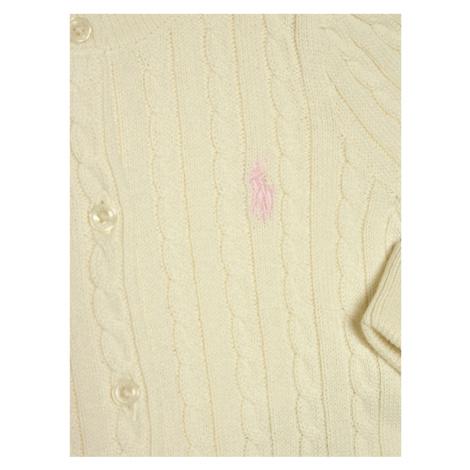 Polo Ralph Lauren Sweter Mini Cable 310543047008 Biały Regular Fit