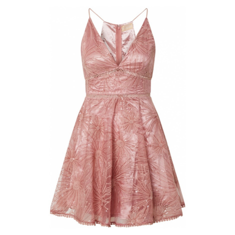 Love Triangle Sukienka koktajlowa 'Constellations' różany