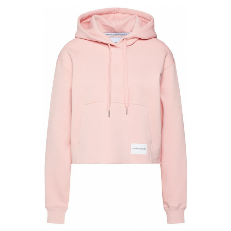 Calvin Klein Jeans Bluzka sportowa 'RAW HEM' różowy pudrowy