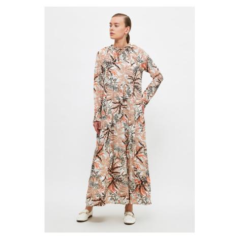 Trendyol Beige Viscose Dress