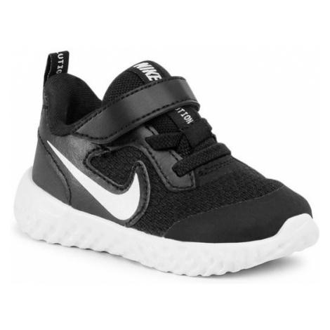 Nike Buty Revolution 5 (TDV) BQ5673 003 Czarny