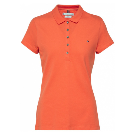 TOMMY HILFIGER Koszulka pomarańczowy