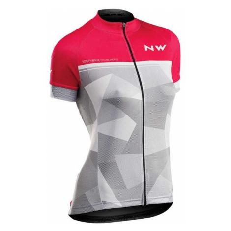 Northwave ORIGIN W różowy S - Koszulka rowerowa damska North Wave