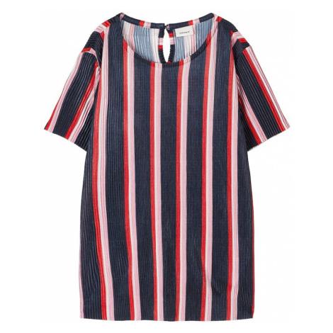 NAME IT Koszulka czerwony / niebieski / różowy pudrowy