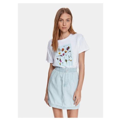 TOP SECRET biały koszulka z nadrukiem