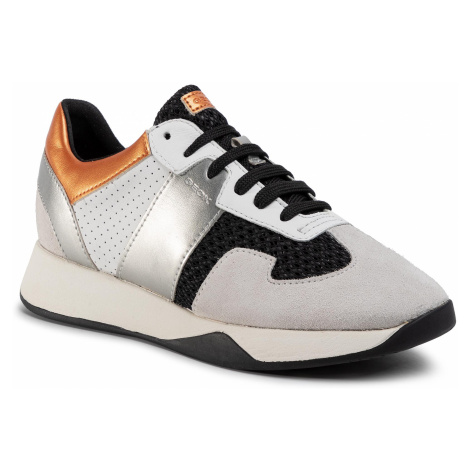 Sneakersy GEOX - D Suzzie B D94FRB 01422 C9876 Black/Off White