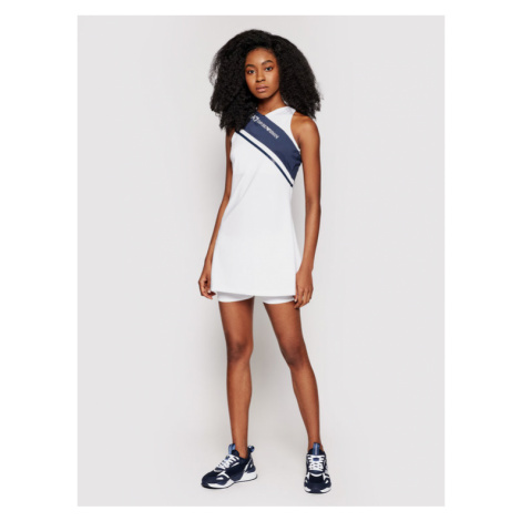 EA7 Emporio Armani Sukienka tenisowa 3KTA57 TJ56Z 1100 Biały Regular Fit