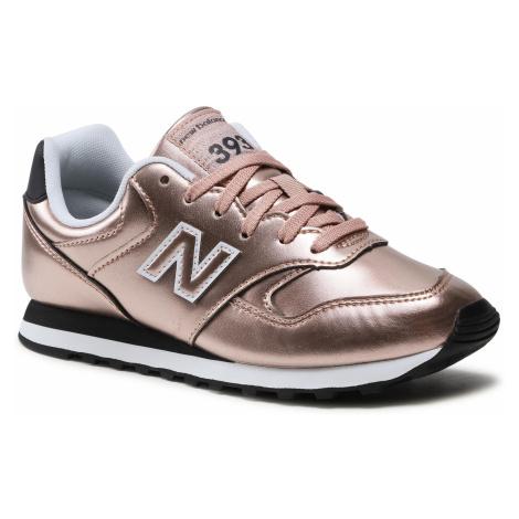 Sneakersy NEW BALANCE - WL393EL1 Złoty