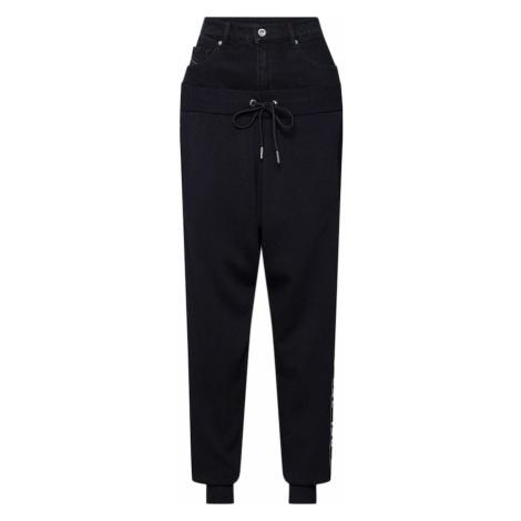 DIESEL Spodnie czarny