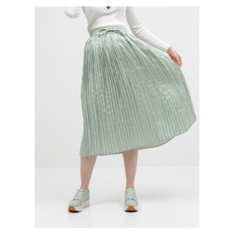 Zielona plisowana spódnica maxi ONLY Liva