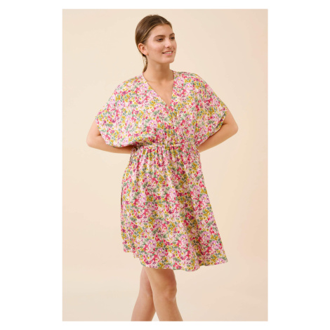 Wiskozowa sukienka mini Orsay