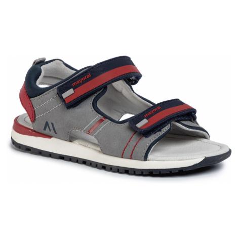 Sandały MAYORAL - 45221 Gris/Rojo 15