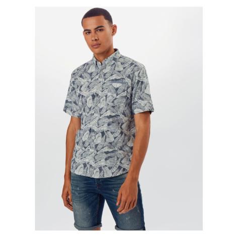 TOM TAILOR Koszula biały / gołąbkowo niebieski