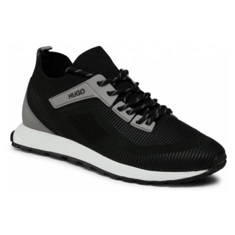 Hugo Sneakersy Icelin 50445696 10232548 01 Czarny Hugo Boss