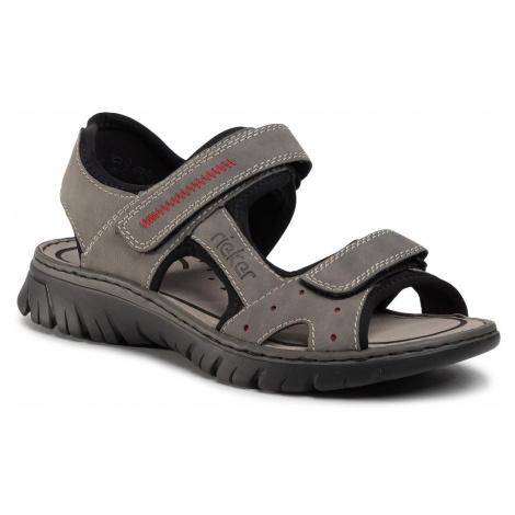 Sandały RIEKER - 26784-41 Grau