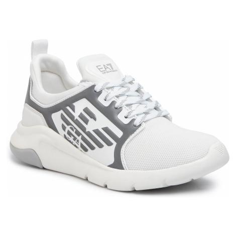 Sneakersy EA7 EMPORIO ARMANI - X8X057 XCC55 00175 White/Silver