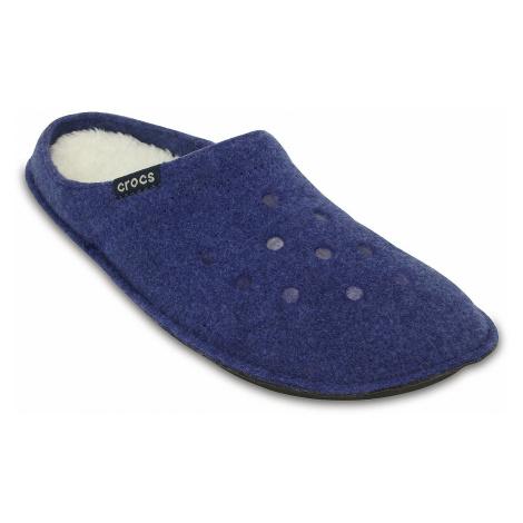 buty Crocs Classic Slipper - Cerulean Blue/Oatmeal
