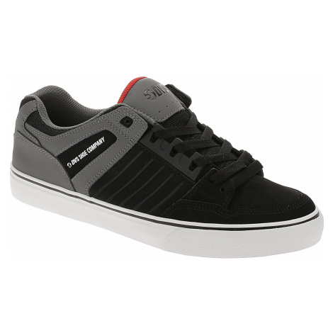 buty DVS Celsius CT - Black/Charcoal/Red/Nubuck