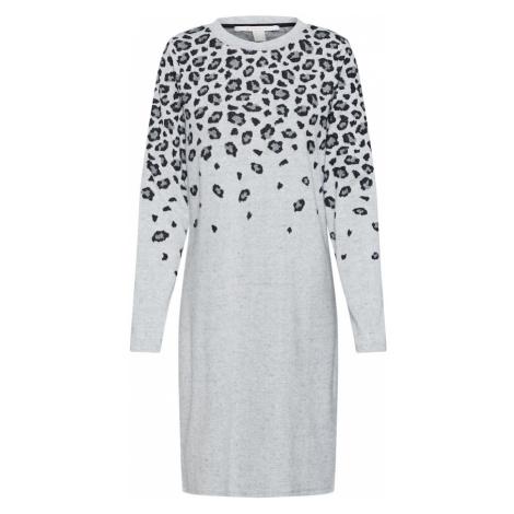 ESPRIT Sukienka z dzianiny 'Leo Sweat' jasnoszary