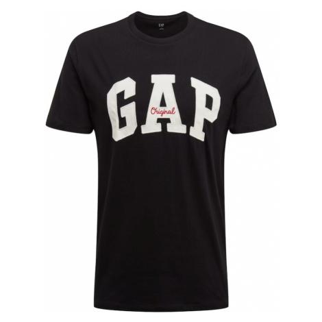 GAP Koszulka 'ARCH' czarny / biały