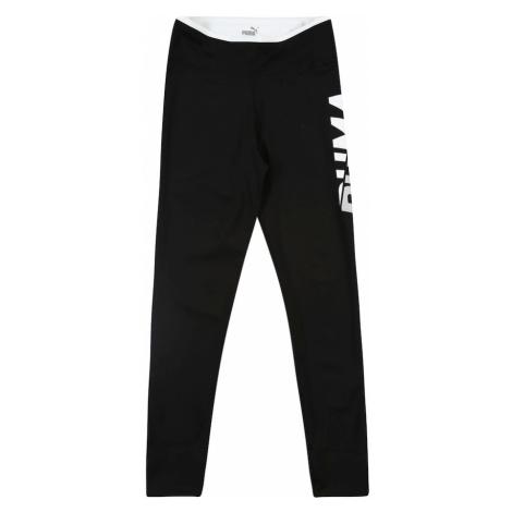 PUMA Spodnie sportowe 'Modern Sport' jasnoszary / czarny / ciemnoszary