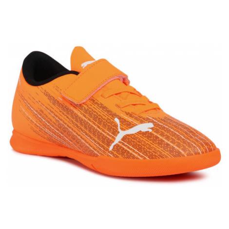 Puma Buty Ultra 4.1 It V Jr 106225 01 Pomarańczowy