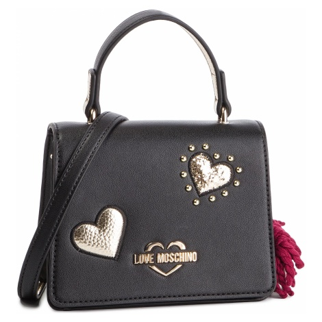 Torebka LOVE MOSCHINO - JC4062PP17LF0000 Nero