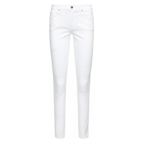 Calvin Klein Jeans Jeansy Skinny Fit J20J213858 Biały Skinny Fit