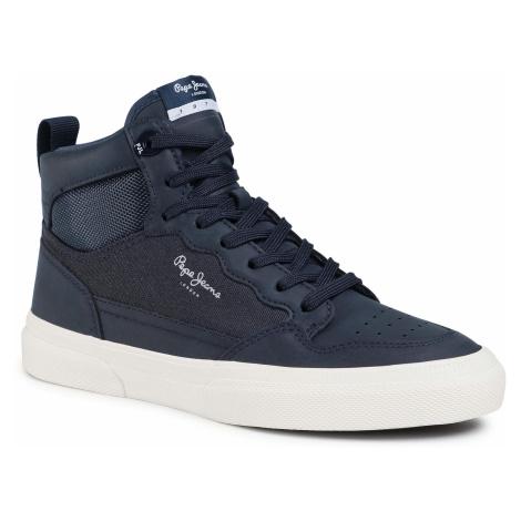 Sneakersy PEPE JEANS - Kenton Boot Boy PBS30472 Navy 595