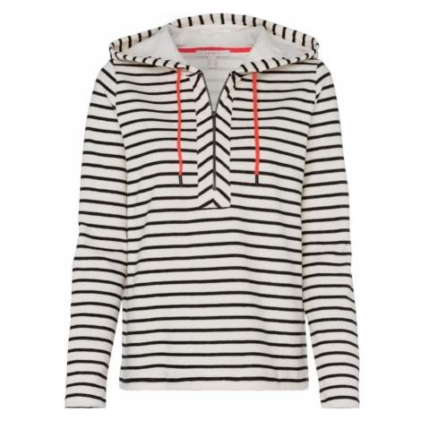 ESPRIT Bluzka sportowa czarny / biały