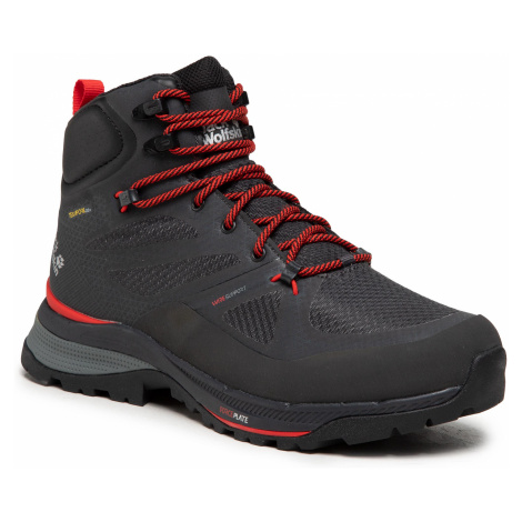 Trekkingi JACK WOLFSKIN - Force Striker Texapore Mid M 4038821 Phantom/Red