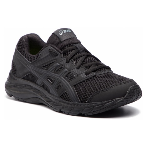 Buty ASICS - Contend 5 Gs 1014A049 Black/Black 020