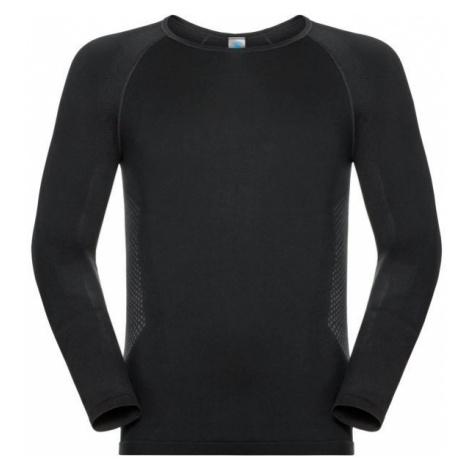 Odlo SHIRT L/S SEAMLESS WARM TOP czarny M - Koszulka termoaktywna męska