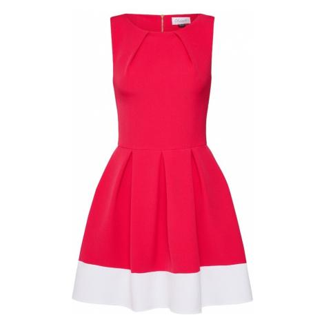 Closet London Sukienka koktajlowa różowy / biały