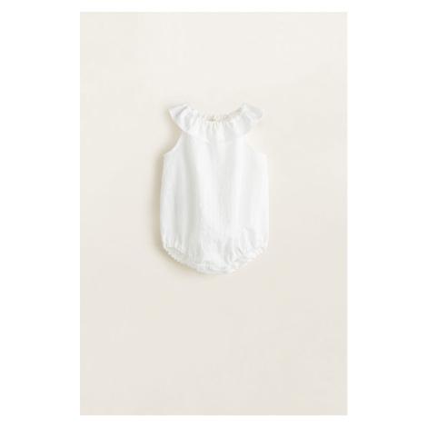Mango Kids - Body dziecięce Grace 62-80 cm