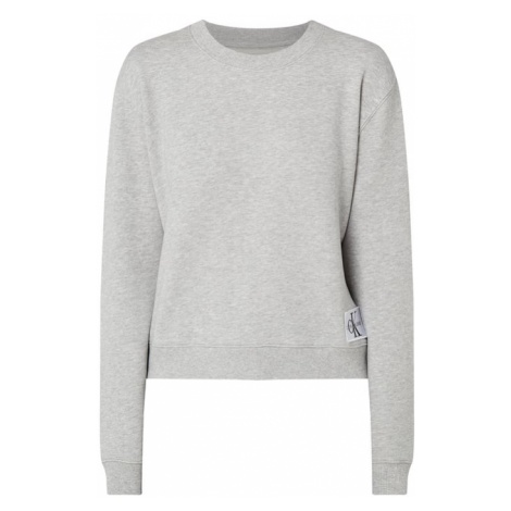 Bluza z aplikacją z logo Calvin Klein