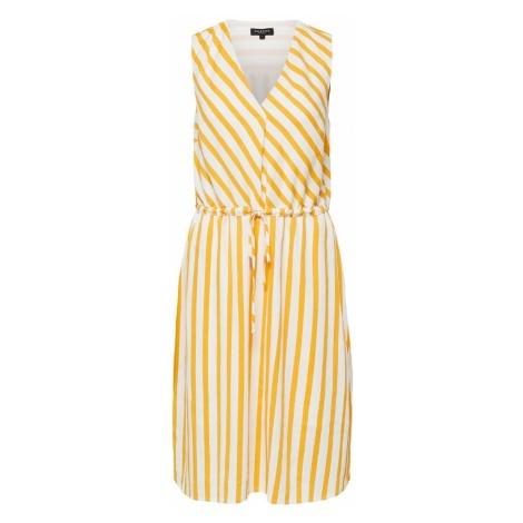 SELECTED FEMME Letnia sukienka żółty / biały