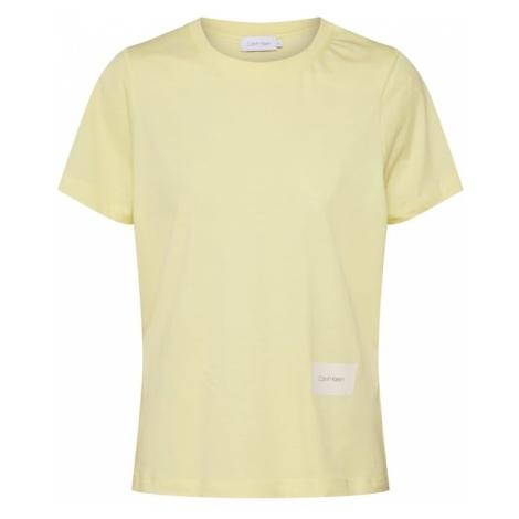 Calvin Klein Koszulka żółty