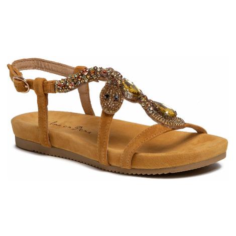 Sandały ALMA EN PENA - V20846 Suede Moustard
