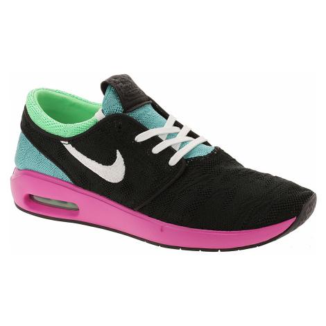 buty Nike SB Air Max Janoski 2 - Black/White/Cabana/Electro Green