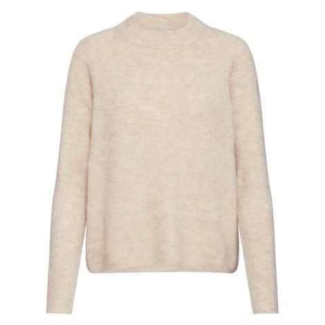 PIECES Sweter 'Ellen' kremowy / beżowy