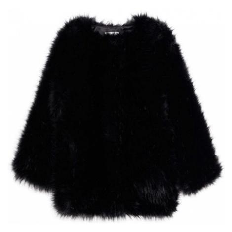 MANGO Płaszcz przejściowy 'Ploma' czarny
