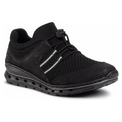 Sneakersy RIEKER - L22X0-01 Schwarz