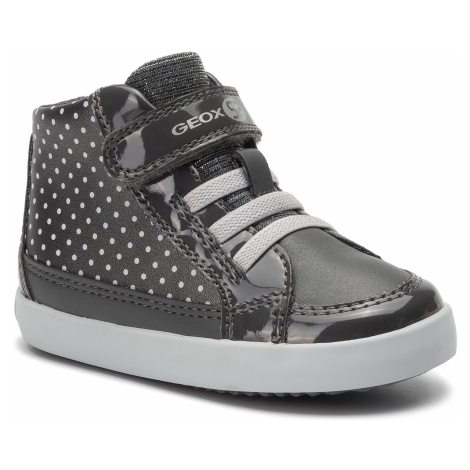 Sneakersy GEOX - B Gisli G. C B941MC 0AJ54 C0710 M Dk Grey/Silver