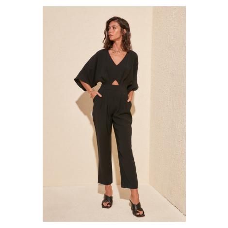 Trendyol Black Cut Out Detailed Jumpsuit
