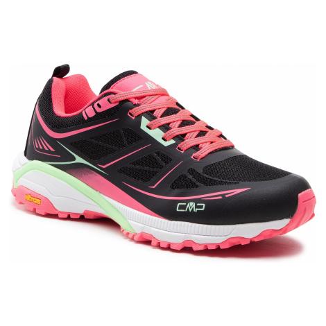 Trekkingi CMP - Hapsu Wmn Nordic Walking Shoe 30Q9606 Nero/Gloss 84UE